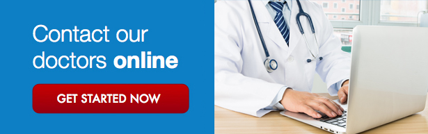 Contact our doctors online now get started